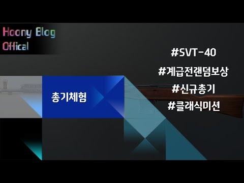 [CSO2] SVT-40 계급전 총기 리뷰