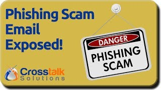 Phishing Scam Email Exposed!