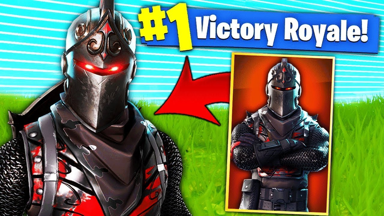 J Ai Debloque Le Chevalier Noir De Fortnite Battle Royale Youtube