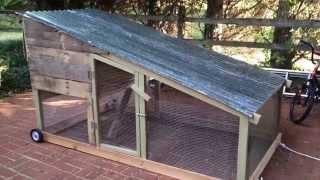 Mobile Suburban Chicken Coop (Tractor)
