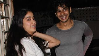 Jhanvi Kapoor & Ishaan Khattar SPOTTED on a movie date together