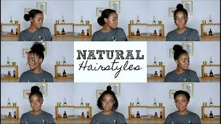 8 Quick and Easy Hairstyles for 4C Natural Hair