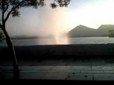 The Power Fountain - Fatehsagar Lake