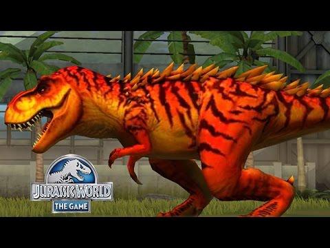 T.REX OMEGA NEW HYBRIDS || Jurassic World The Game - Ep 3 HD