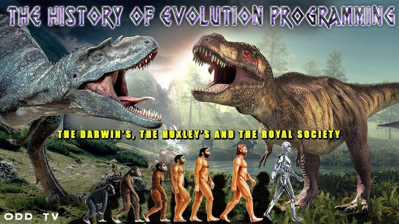 History of Evolution Theory | Darwin's, Huxley's and Royal Society ▶️️