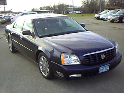 2004 Cadillac DTS - YouTube