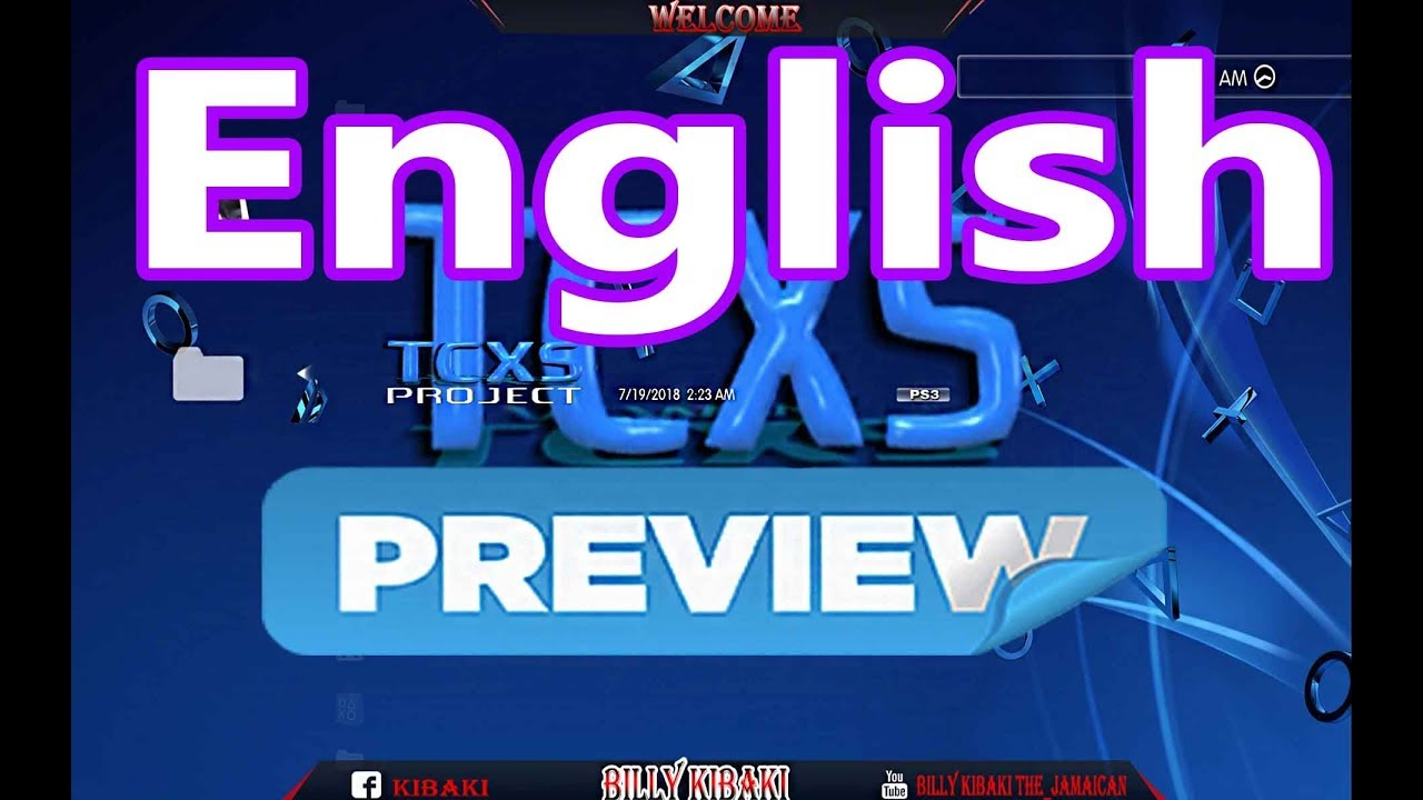 Preview Of TCXS Project English Version Video Coming Soon Han PS3