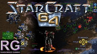 StarCraft 64 - Nintendo 64 - Exclusives N64 tutorial missions & mission 2 gameplay [HD 1080p 60fps]