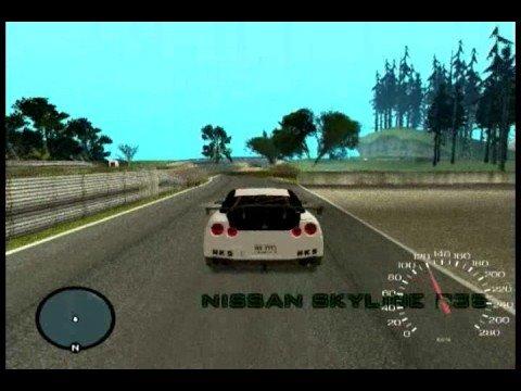 GTA San Andreas - Nissan Skyline GTR R35