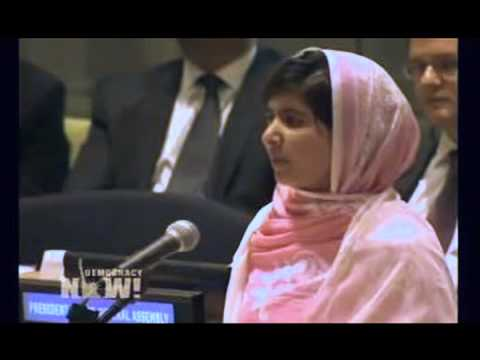 The Youngest Nobel Peace Prize Winner's Speech