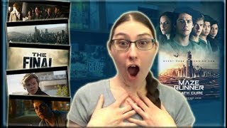 THE DEATH CURE FINAL TRAILER REACTION & DISCUSSION