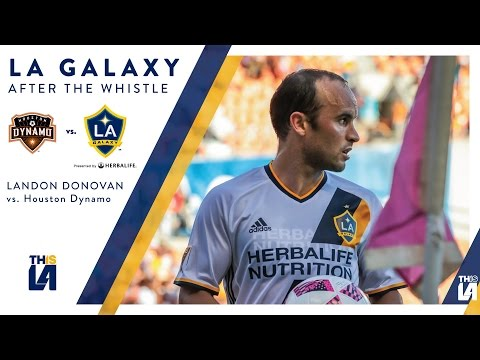 "Landon Donovan on Houston win: ""It was a real team performance"" 