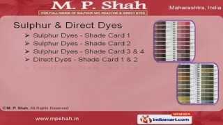 Sulphur Dyes by M. P. Shah, Mumbai
