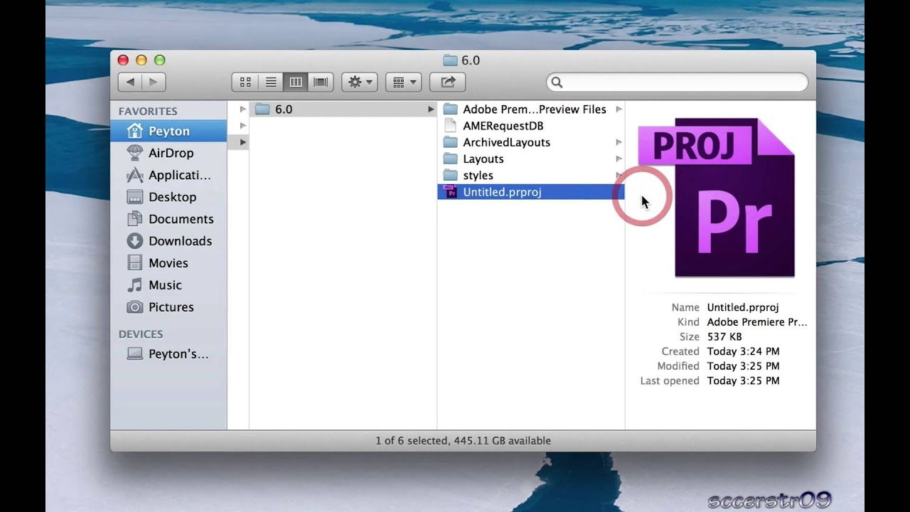 Adobe Premiere Pro Tutorial: Deleting Projects and ...