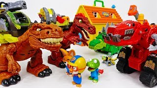 Motorized Dinosaurs Are Coming~! Dinotrux, Trux It Up - ToyMart TV