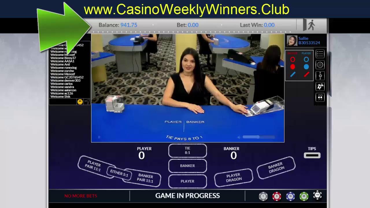 Baccarat winning stories poker online italiano gratis