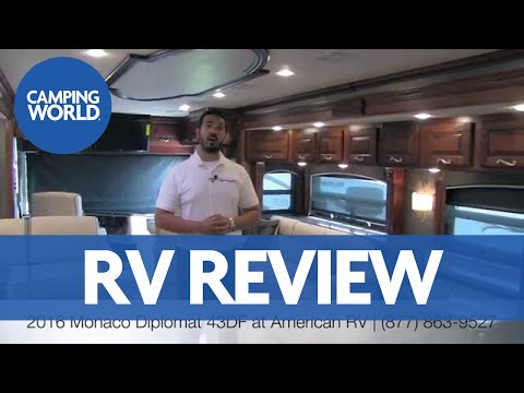 Monaco Diplomat 43DF | Class A | Diesel Pusher - RV Review