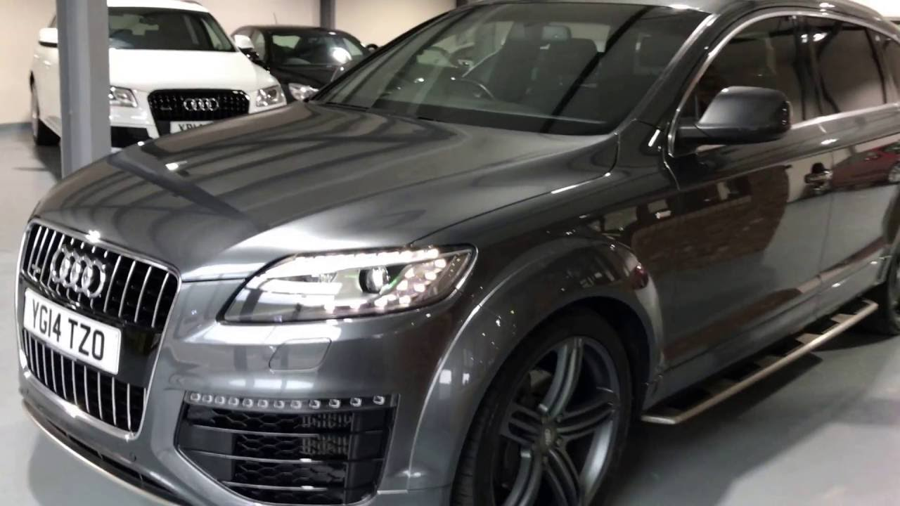 2014 audi q7 3 0 tdi s line sport edition youtube. Black Bedroom Furniture Sets. Home Design Ideas