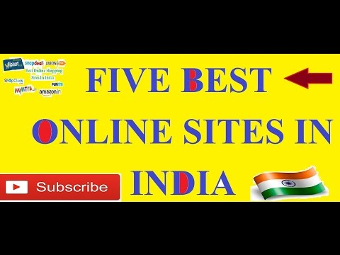 best five  Online shopping sites In India 2016