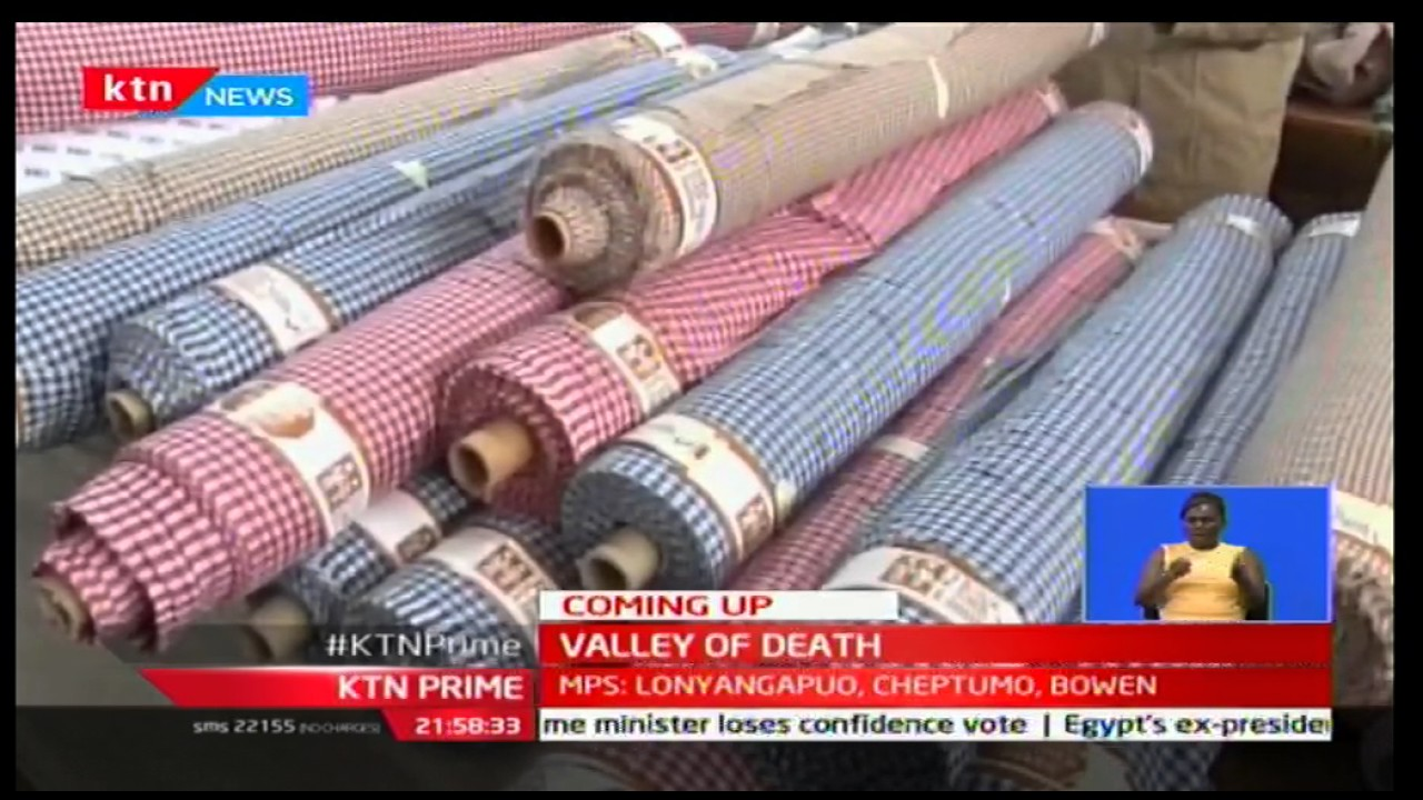 Kenya Textile industry struggles behind foreign textile imports and exports