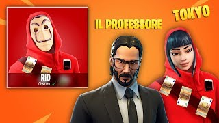 THE CASA DE PAPEL ON FORTNITE! Here's THE SKIN (Third Season)
