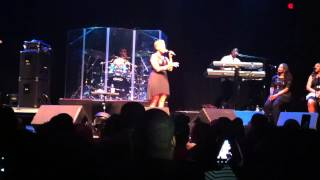 "Chrisette Michele singing ""I don"