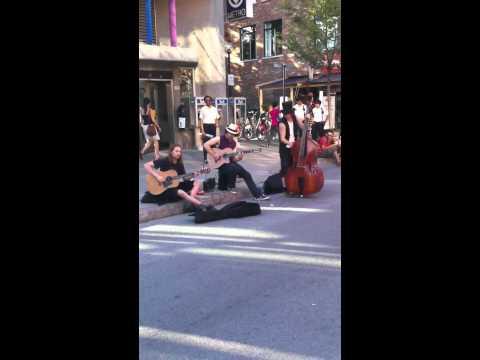 Bons musiciens de rue