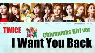 Baixar TWICE - I Want You Back (Chipmunks Girl ver)
