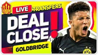 SANCHO Transfer Close! Man Utd Transfer News