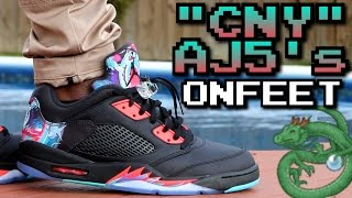 """Chinese New Year"" Air Jordan 5 W/ On-Feet Review"