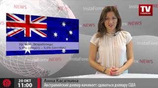 Австралийский доллар уступает доллару США