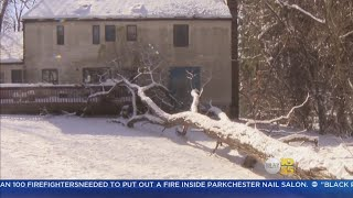 Tri-State Cleans Up After Weekend Snowfall