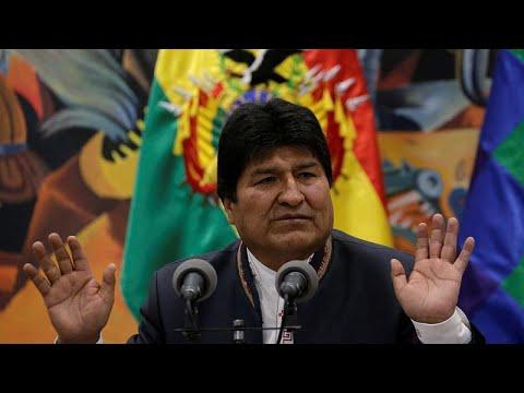 Evo Morales demite-se da presidência após pressão militar