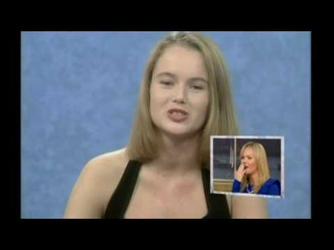 Amanda Holden shown a clip of her on Blind Date on This Morning 25th January 2010