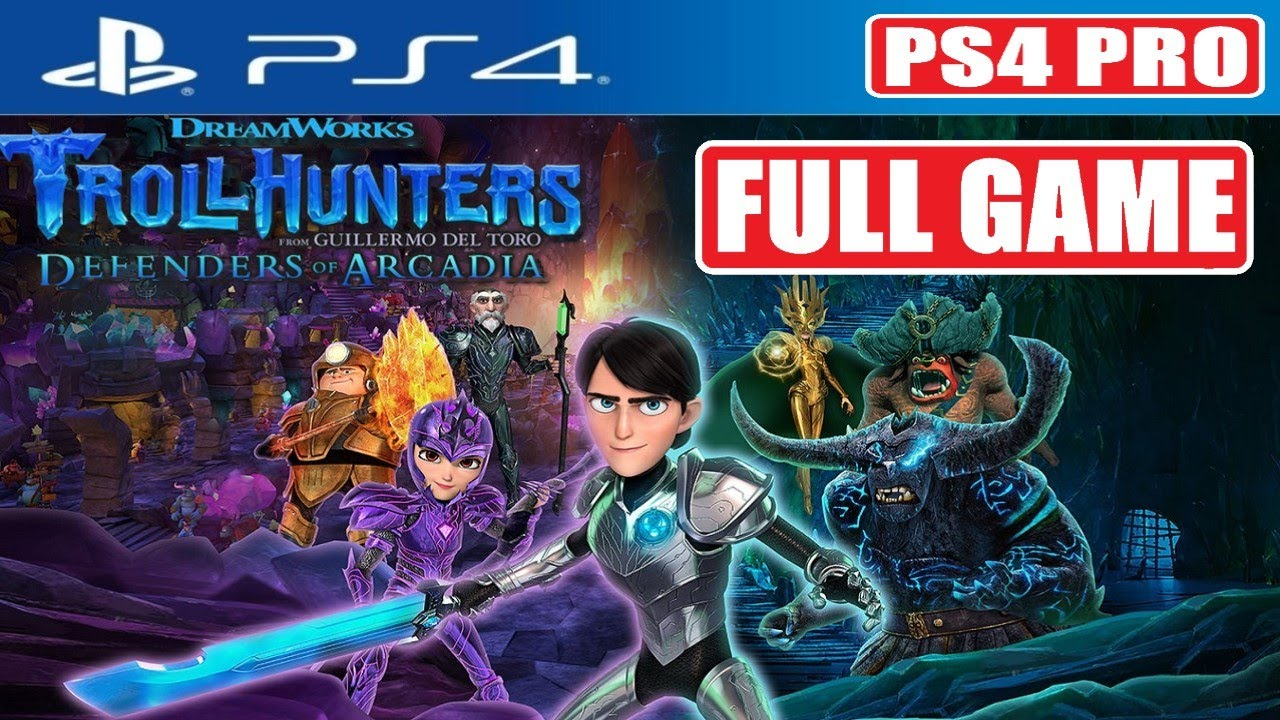 Download TrollHunters Defenders Of Arcadia FULL GAME Gameplay Walkthrough [1080p 60fps PS4 PRO] No Commentary