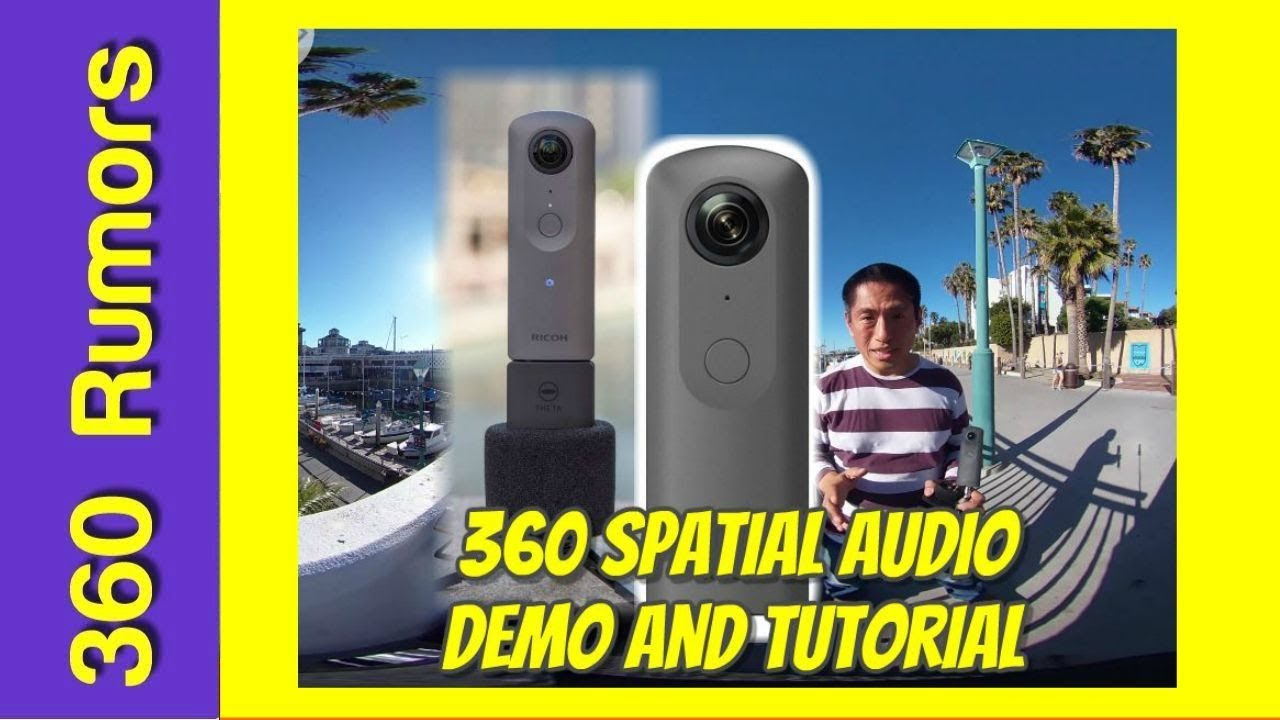 Ricoh Theta V 360 spatial audio sample and tutorial for Adobe Premiere Pro