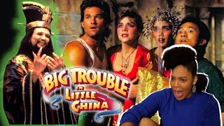 Jack's A Bomb Sidekick! BIG TROUBLE IN LITTLE CHINA Movie Reaction, First Time Watching