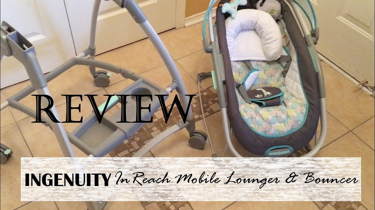 The Ingenuity Inlighten Bouncer Is A Designed To Soothe Bright Starts Smartbounce Automatic Winslow Review Inreach Mobile Lounger Baby Product 2017