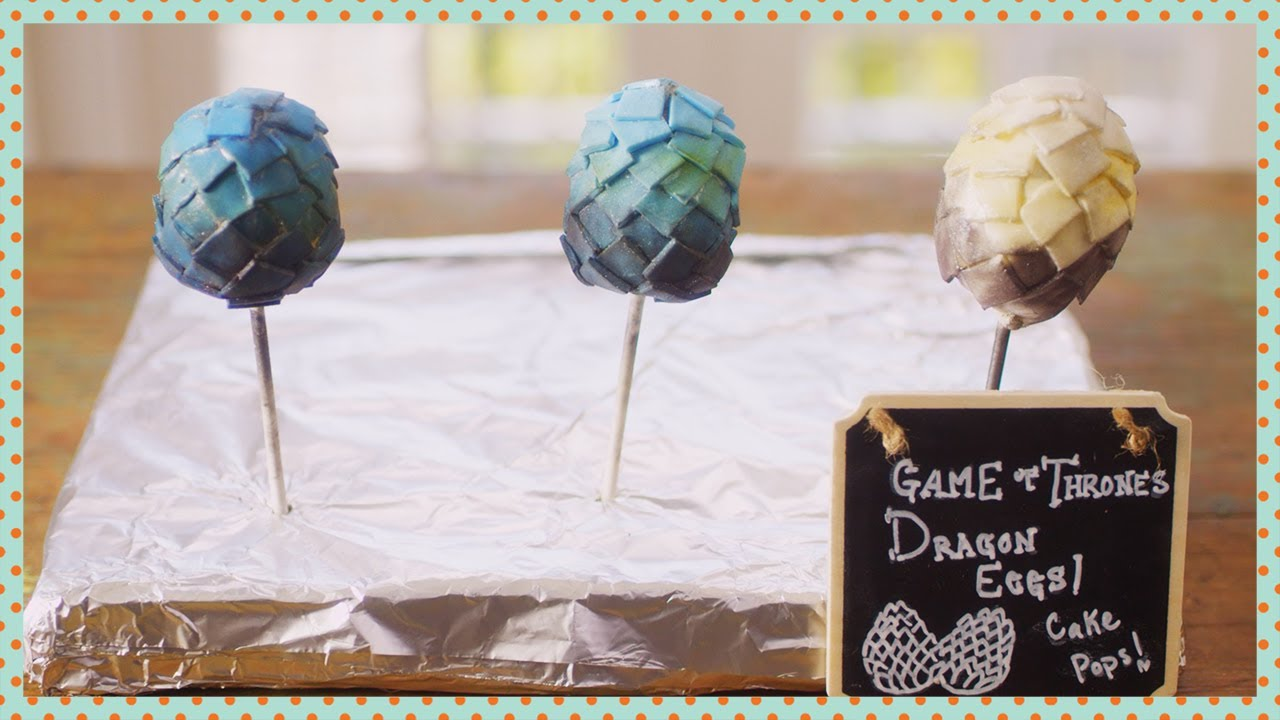 Dragon Egg Cake Pops Cooking Youtube