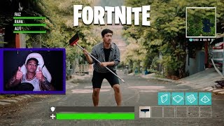 Fortnite in Real Life | May i see feat. Reza Oktovian