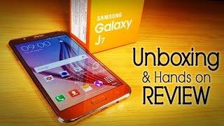 samsung galaxy j7 review unboxing en espaol