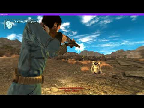 Fallout: New Vegas Gameplay Capture | Corei7 2600 Rx 560 2 GB VRAM |