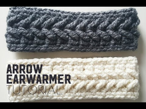How to crochet the Arrow Earwarmer | Arrow Earwarmer | Crochet Tutorial | Headband