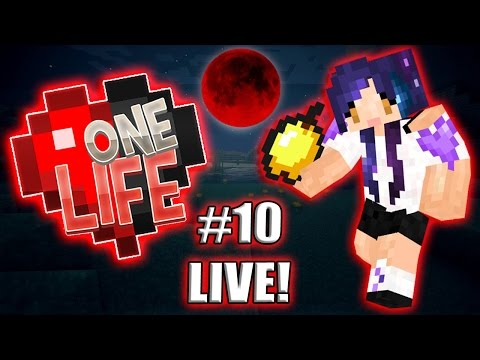 Trying Not to Die...LIVE!! - One Life...