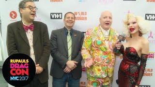 Then vs Now NY Nightlife w/ Amanda Lepore, Michael Musto and John Simone at RuPauls DragCon NYC 2017