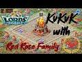 """Bleeding"" Red Rose meets Garrison Trap - KvK April 19 - Lords Mobile"