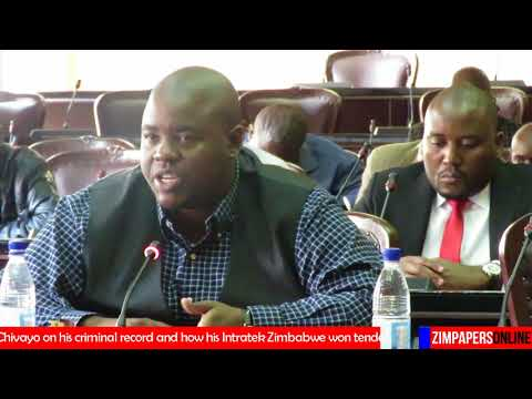 Chivayo on his criminal record and how his Intratek Zimbabwe won tender