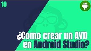 ¿ Como configurar  emulador AVD en android studio ?