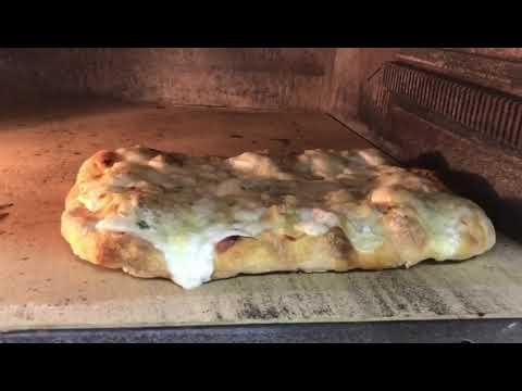 Пицца 4 сыра на римском тесте