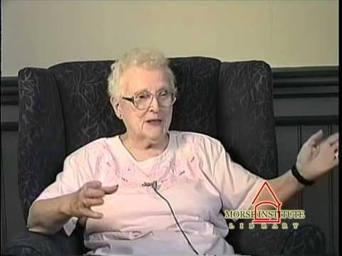 Ahern World War II Veteran U.S. Army Natick Veterans Oral History Project